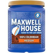 Maxwell House 100% Colombian Medium Roast Ground Coffee