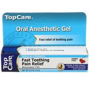 TopCare Oral Anesthetic Gel, Cherry