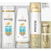 Pantene Smooth & Sleek Shampoo and Conditioner Holiday Pack