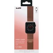 Laut Steel Loop, Rose Gold, Stainless Steel, Apple Watch, 38/40 MM