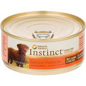 Nature's Variety Instinct Grain-Free Nutrition Salmon Formula Canned Dog Food