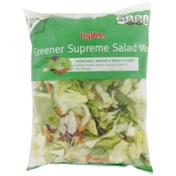 Hy-Vee Greener Supreme Salad Mix Iceberg Lettuce, Romaine Lettuce, Carrots & Red Cabbage