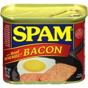SPAM with Real Hormel Bacon Canned Meat