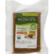 Wildwood Tofu, Smoked, Organic, Garlic Teriyaki