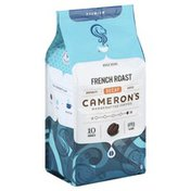 Camerons Coffee, Handcrafted, Whole Beans, French Roast, Decaf