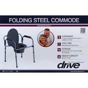 Drive Commode, Folding Steel