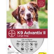 K9 Advantix II Large Dog Repels & Kills Ticks, Fleas & Mosquito