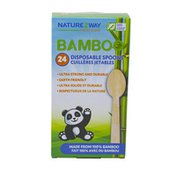 Naturezway Bamboo Disposable Spoons