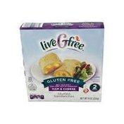 liveGfree Ham & Cheese Gluten Free Stuffed Sandwich