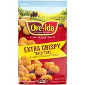 Ore-Ida Extra Crispy Tater Tots Seasoned Shredded Frozen Potatoes