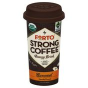Forto Energy Drink, Strong Coffee, Caramel