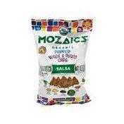 Mozaics Salsa Organic Popped Veggie & Potato Chips