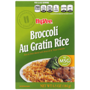 Hy-Vee Rice, Broccoli Au Gratin