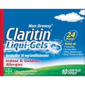 Claritin 24 Hour Non-Drowsy Allergy  Liqui-Gels