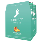 Barefoot Moscato White Wine 4 Single Serve Cans