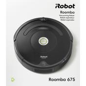 iRobot Vacuuming Robot, 675