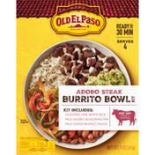 Old El Paso Burrito Bowl Kit, Adobo Steak