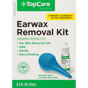 TopCare Earwax Removal Carbamide Peroxide 6.5% Kit