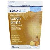 Equaline Cough Drops, Honey Lemon, Drops