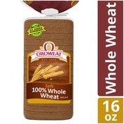 Oroweat Oroweat 100% Whole Wheat Soft Bread
