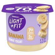 Light + Fit Nonfat Gluten-Free Banana Yogurt