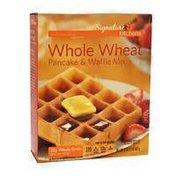Signature Kitchens Whole Wheat Pancake & Waffle Mix