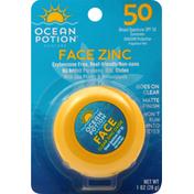 Ocean Potion Sunscreen, Broad Spectrum, SPF 50