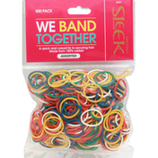 Firstline Rubber Band, Assorted, 500 Pack