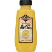 Black Bear Yellow Mustard