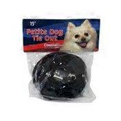 "Coastal Pet 5/32"" Black Poly Dog Tie Out"