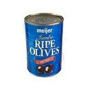 Meijer Pitted Jumbo Ripe Olives