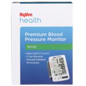 Hy-Vee Health, Wrist Premium Blood Pressure Monitor