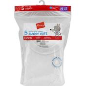 Hanes T-Shirts, Toddler Boys, Super Soft, 2T-3T