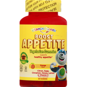 Vitamin Friends Boost Apetite, Vegetarian Gummies, Orange Flavor