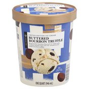 Publix Premium Ice Cream, Buttered Bourbon Truffle