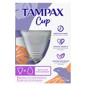Tampax Menstrual Heavy Flow With Carrying Case
