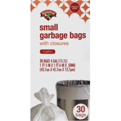 Hannaford 4-Gallon Small Garbage Bags