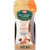 Hormel Honey Ham/Mild White Cheddar Cheese/Dark Chocolate Covered Pretzels Snack Mix
