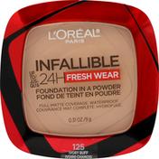 L'Oreal Foundation, Fresh Wear, Ivory Buff 125