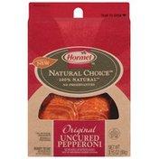 Hormel Original Uncured 100% Natural Pepperoni
