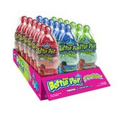 Baby Bottle Pop 2D Max Candy Lollipops with Dipping Powder & Pebbles, 1.3 oz (Pack of 18)