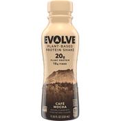 Evolve Protein Shake, Plant-Based, Cafe Mocha