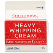 Stater Bros. Markets Heavy Whipping Cream