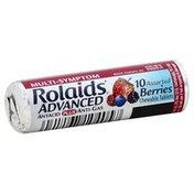 Rolaids Antacid + Anti Gas, Berries, Advanced, Chewable Tablets, Bottle