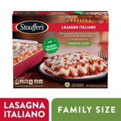 Stouffer's Family Size Lasagna Italiano Frozen Meal