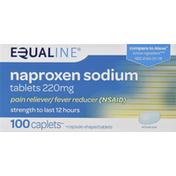 Equaline Naproxen Sodium, 220 mg, Caplets