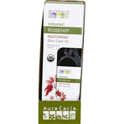 Aura Cacia Skin Care Oil, Restoring, Organic, Rosehip