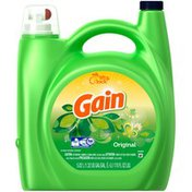 Gain Liquid Laundry Detergent, Original Scent, 110 loads, 170 fl oz Laundry