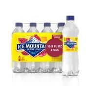 Ice mountain Sparkling Water, Pomegranate Lemonade