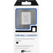MobilEssentials Wall Charger, USB